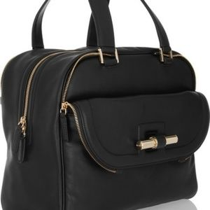 Jimmy Choo Justine Square Handbag.